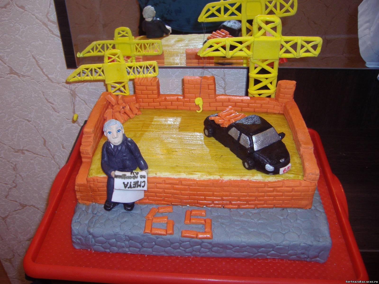 Торт для строителя лучшие торты